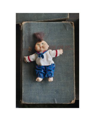 Baby Mohawk Doll, by Adam Bartos