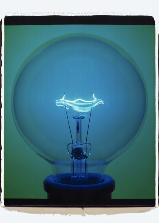 Light Bulb (009BGi), by Amanda Means
