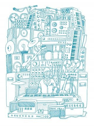 Stack Of Gear, by <a href='/site-admin/artists/artist/15'>Andrew Rae</a>