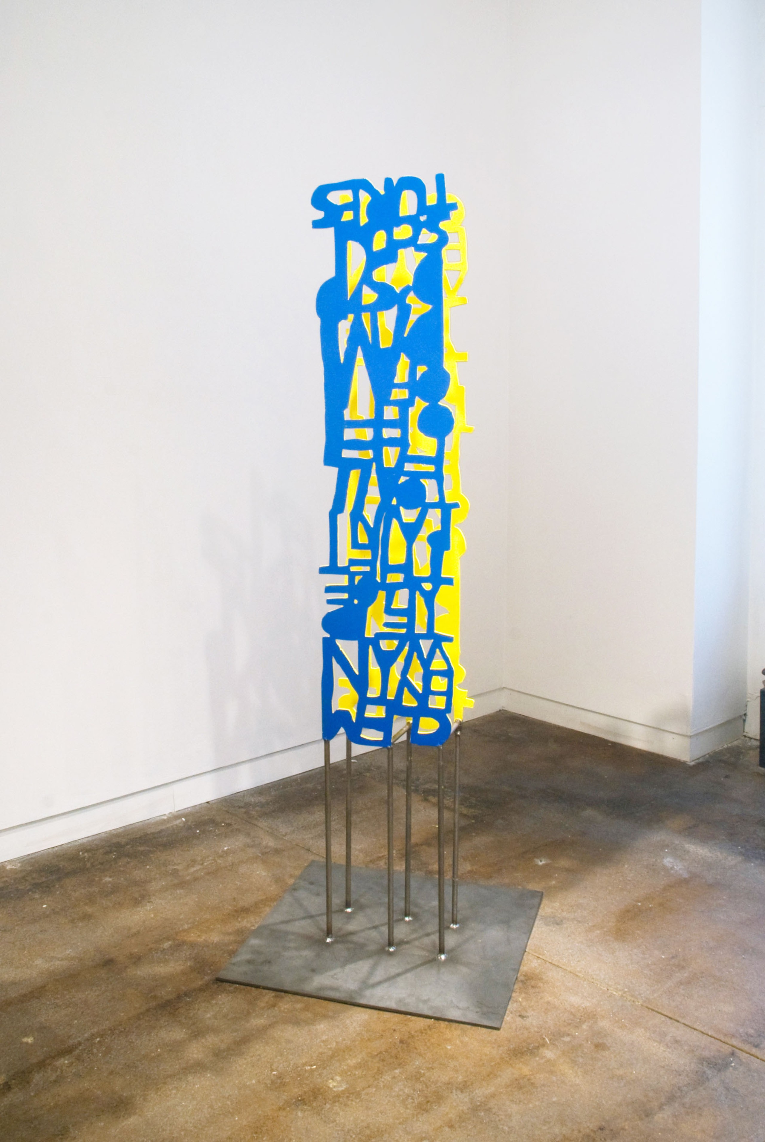 Anthony Campuzano, Unpainted Painted Sculpture