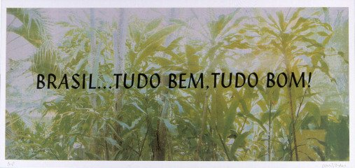 Antoni Muntadas Brasil... Tudo Bem. Tudo Bom! art for sale