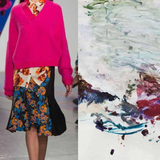 8 Chic Art Crossovers From the Runways of Fashion Week