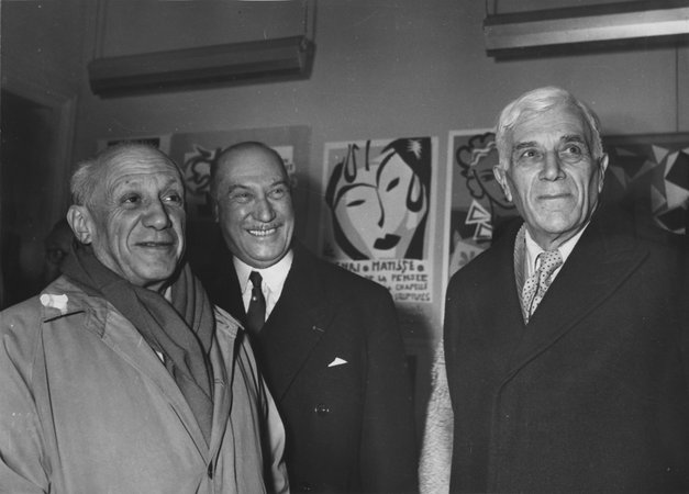 the relative works of georges braque and pablo picasso Watch video  georges braque was a 20th century french painter known for inventing cubism with pablo picasso learn more at biographycom.