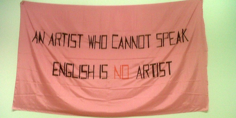 "Mladen Stilinović, ""An Artist Who Cannot Speak English Is No Artist"""