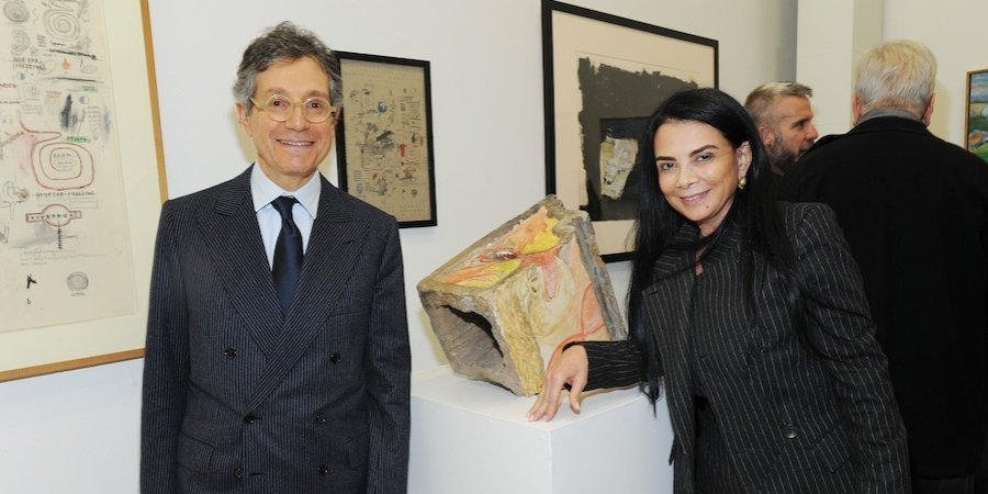 '80s art-world rock stars Jeffrey Deitch and Mary Boone