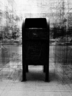 "Klara Lidén<br><em>Untitled (mailbox)</em>, 2012<br>Archival inkjet print<br>24"" x 18""<br>Signed and numbered certificate by the artist"
