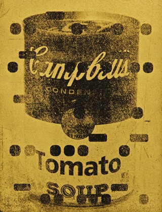 It's All Derivative:  Campbells Soup in Gold, by <a href='/site-admin/artists/artist/1292'>Bill Claps</a>