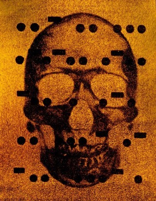 It's All Derivative: The Skull in Gold, by <a href='/site-admin/artists/artist/1292'>Bill Claps</a>