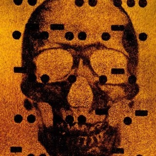 It&#39;s All Derivative: The Skull in Gold art for sale