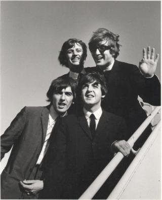 The Beatles at JFK , by Bill Ray