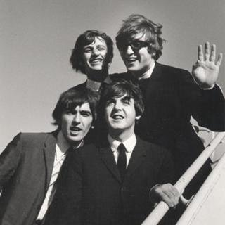 The Beatles at JFK  art for sale