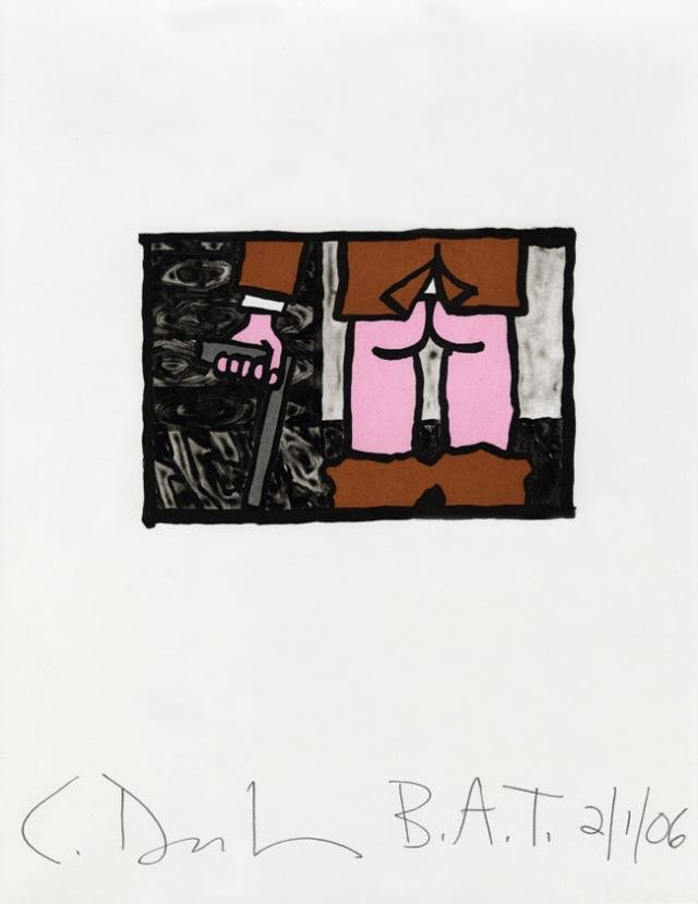 Carroll Dunham, Untitled