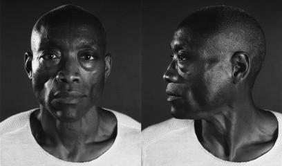 Bill T. Jones/Diptych, by Chuck Close
