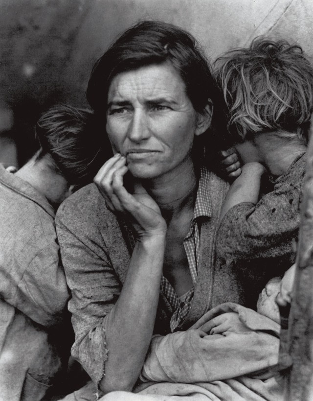 Dorothea Lange , Migrant Mother, Nipomo, California, 1936