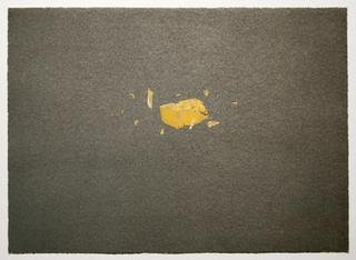 Exploding Cheese, by Ed Ruscha