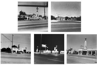 Five views from the Panhandle, by Ed Ruscha