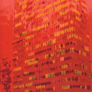 Enoc Perez, Lever House (Red)