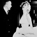 "Billy Wilder, Marilyn Monroe Set of ""The Seven Year Itch"""