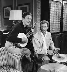 Kirk Douglas and Dan Dailey, by Frank Worth