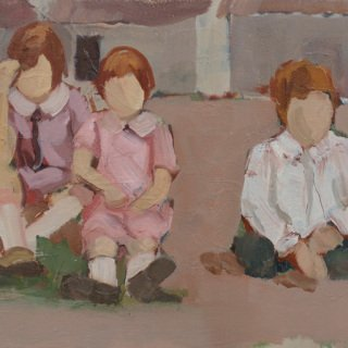 1929 (Two Girls and a Boy) art for sale