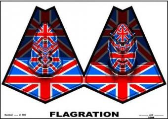 Gilbert & George  Flagration art for sale