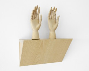 Untitled (female mannequin right hands), by Haim Steinbach