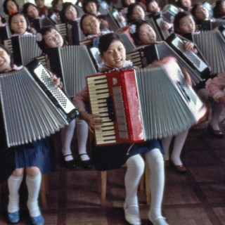 Hiroji Kubota, North Korea. Pyongyang. 1982. Children at Pyongyang Student and Children's Palace.