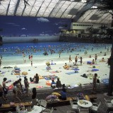 Hiroji Kubota, Japan. Miyazaki City. 2001. Seagaia is the world's biggest indoor water park.