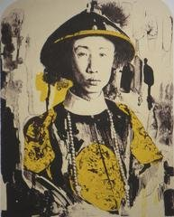 Untitled (emperor yellow), by Hung Liu
