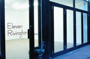Eleven Rivington art gallery