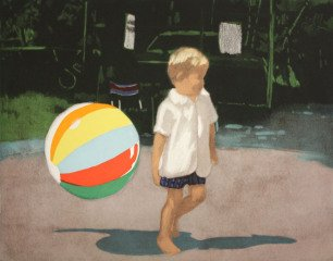 Isca Greenfield-Sanders Tommy and the Ball art for sale