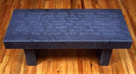 An Opposition Man, by Jenny Holzer