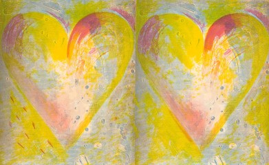 Best Buddies, by Jim Dine