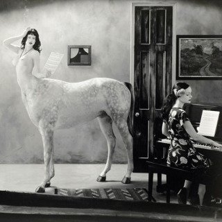 Joel-Peter Witkin, Night in a Small Town, 2007
