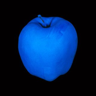 Millenium Piece (with Blue Apple) art for sale