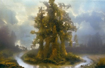 Kim Keever Forest 70B art for sale