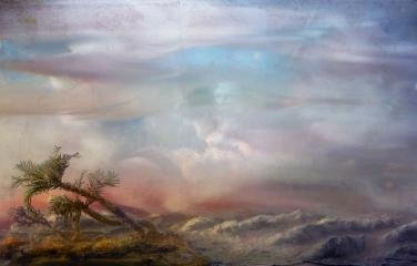 Palm 100e, by <a href='/site-admin/artists/artist/123'>Kim Keever</a>