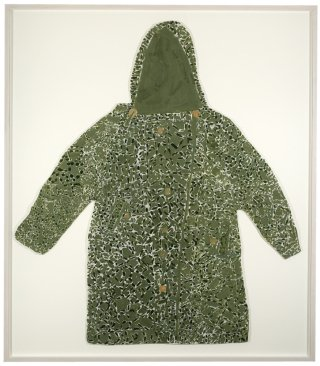 Untitled (Green Camouflage Coat), by Laura Craig McNellis