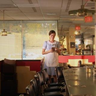 Micah and Whitney Stansell, Waitress