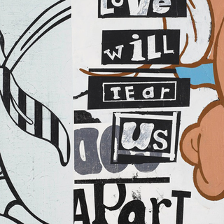Love Will Tear Us Apart art for sale