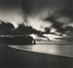 Falaise d&#39;Aval Par Nuit, Etretat, 2000, by Michael Kenna