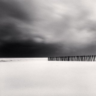 Michael Kenna, Fifty Four Sticks, Calais France, 1998