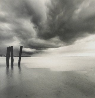 Weather Patterns, Calais, France, 1998, by Michael Kenna