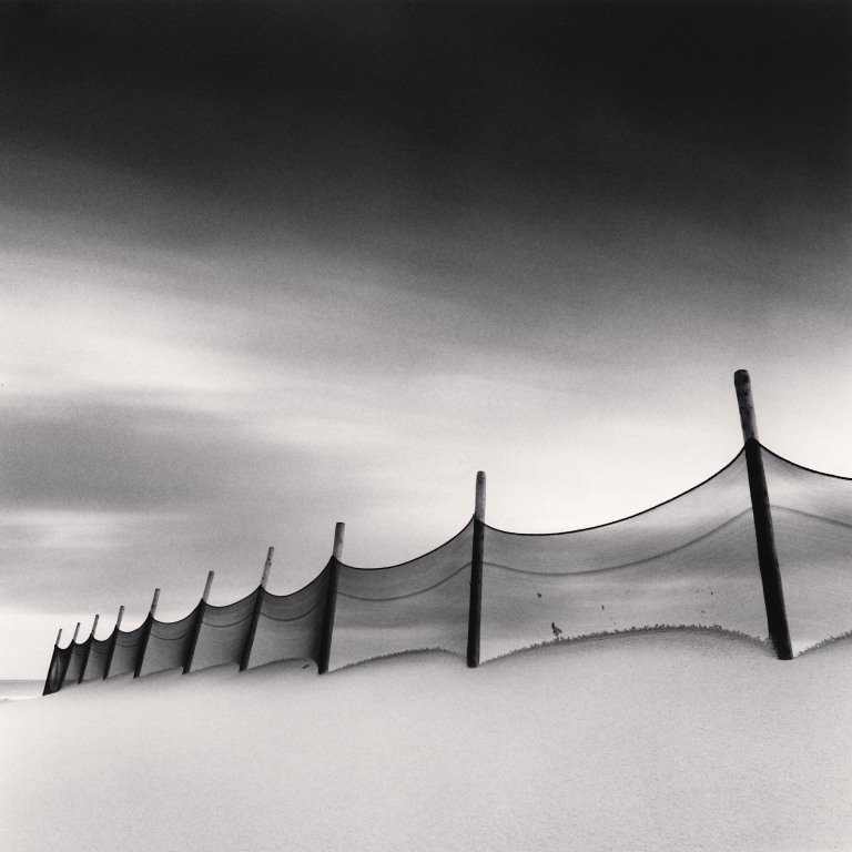 Michael Kenna, Wind-Swept Beach, Calais, France, 1999
