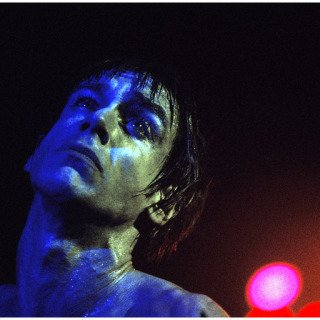 Blue Iggy Pop, New York City art for sale