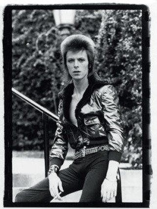 David Bowie-Beverly Hills, Los Angeles, by Mick Rock