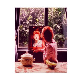 Mick Rock, David Bowie In Mirror, UK