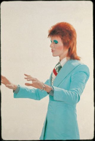 David Bowie-Life on Mars, London, by Mick Rock