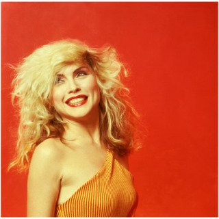 Debbie Harry Orange Smile, New York City art for sale