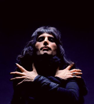Freddie Mercury, London, by Mick Rock